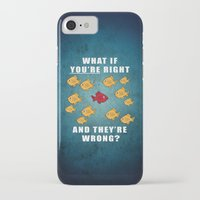 fargo iPhone & iPod Cases featuring Fargo Fish by D-fens