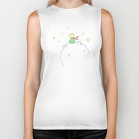 the little prince Biker Tanks featuring The little prince by Fernanda Schallen