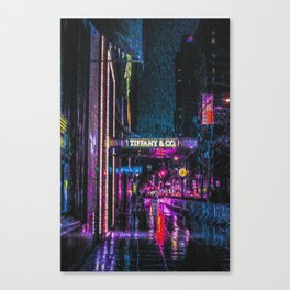 Midnight at Tiffany Canvas Print