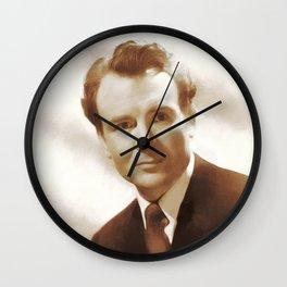 John Mills, Movie Legend Wall Clock