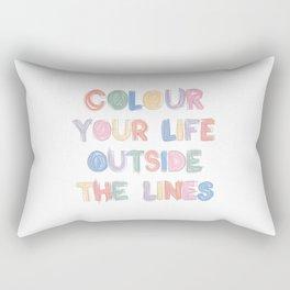 Colour Your Life Rectangular Pillow