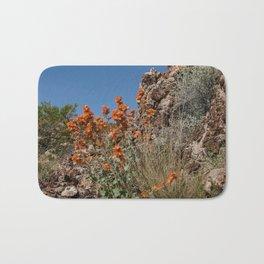 Desert Wildflowers & Cacti in Spring Bath Mat