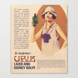 Dr. Sonderbar's Ubik Canvas Print