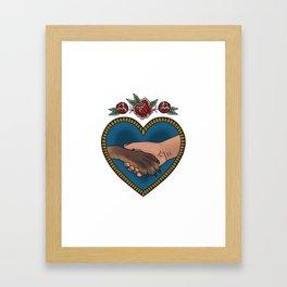 Animal liberation tattoo Framed Art Print