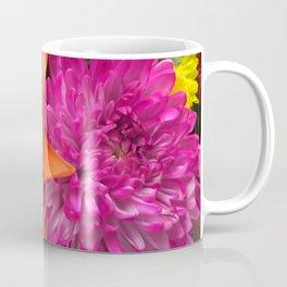 Rainbow of Flowers Coffee Mug