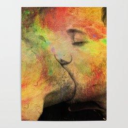 gay kiss Poster