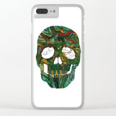 Skull No.7 Motherboard Clear iPhone Case