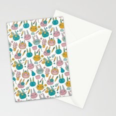 Pattern Project #14 / Bunny Faces Stationery Cards
