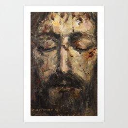 Holy Face Art Print