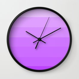 Calm Violet Wisdom - Color Therapy Wall Clock