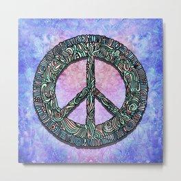 Peace on Earth Metal Print