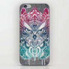 Owl and Dragon iPhone & iPod Skin
