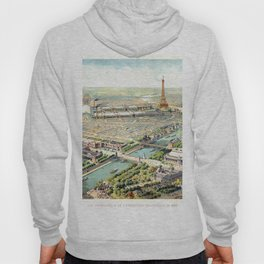 Paris World Fair 1900 Hoody