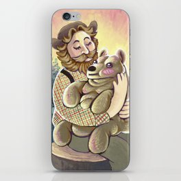Bear Lumps iPhone Skin