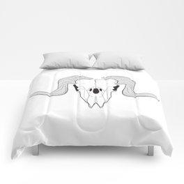 Ram Skull Comforters