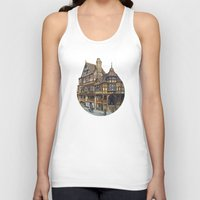 buildings Tank Tops featuring Buildings by Protogami