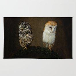Barn And Tawny Owl Rug