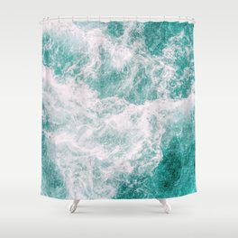 Whitewater 3 Shower Curtain