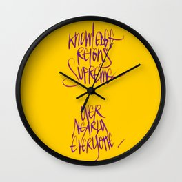 Knowledge #2 Wall Clock