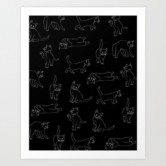 kitties everywhere Kunstdrucke