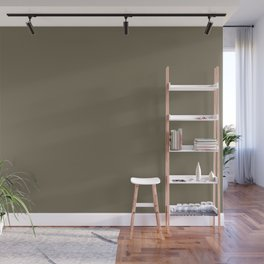 Martini Olive | Pantone Fashion Color | Fall : Winter 2018 | New York and London | Solid Color | Wall Mural