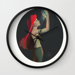 Once upon a fork Wall Clock
