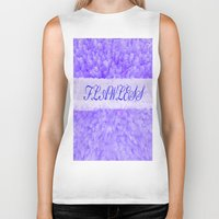 flawless Biker Tanks featuring FLAWLESS by Saundra Myles
