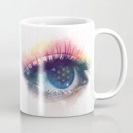 Flower Of Life (Cosmic Vision) Coffee Mug