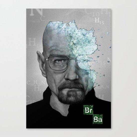 Walter White/Breaking Bad Canvas Print