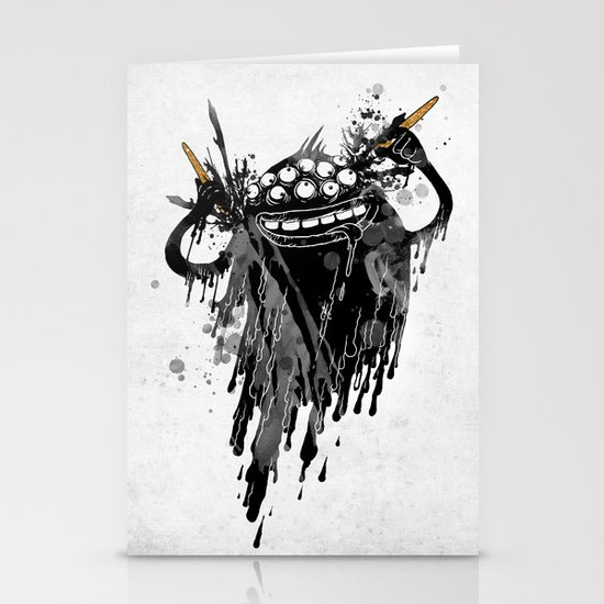 Monsta.Ink! Stationery Cards