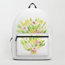 Roses and Gerberas Backpack