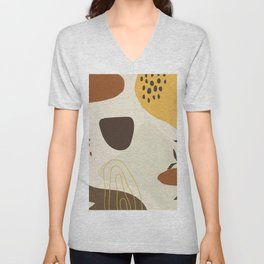Abstract nature Unisex V-Neck
