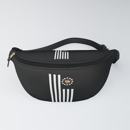 Fox Nerd - Flag Fanny Pack