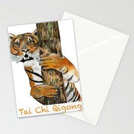 Tai Chi Tiger Design Stationery Cards
