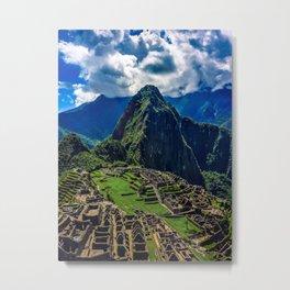 Machu Picchu City, Cusco – Peru Metal Print