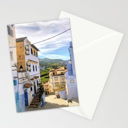 Chefchaouen vista Stationery Cards