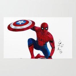 SpiderMan(1)-Civil War Rug