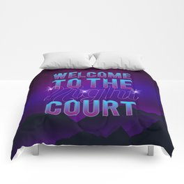 Welcome to the Night Court Comforters