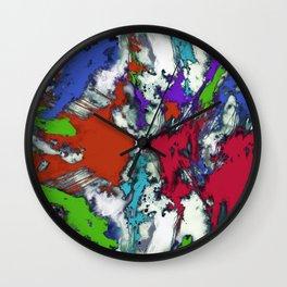 A single moment Wall Clock