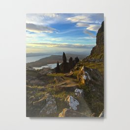 Old Man of Storr, Scotland Metal Print