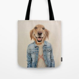 dog cowboy Tote Bag