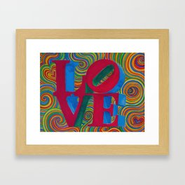 Everlasting Love Framed Art Print