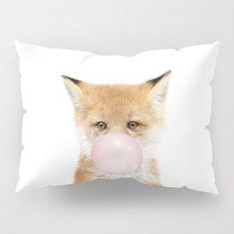 Bubble Gum Fox Pillow Sham