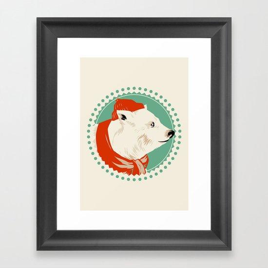 The Life Arctic Framed Art Print