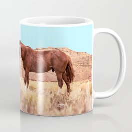 Horses #society6 #decor #buyart Coffee Mug