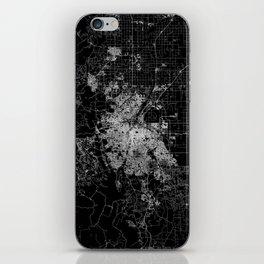 Denver map iPhone Skin