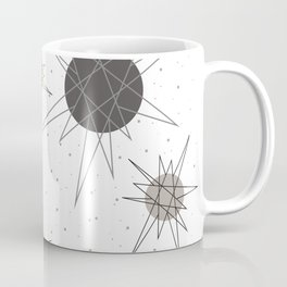 Atomic Stars Neutral Coffee Mug