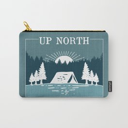 UP NORTH, camping Carry-All Pouch