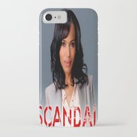 scandal iPhone & iPod Cases featuring SCANDAL by I Love Decor