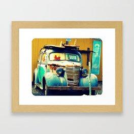 Woodie  - Hawaii Framed Art Print
